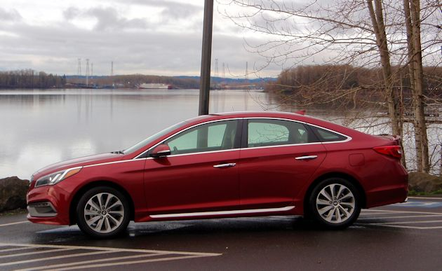 2015 Hyundai Sonata side