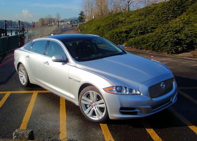 2015 Jaguar XJL front