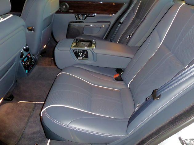 2015 Jaguar XJL rear seat