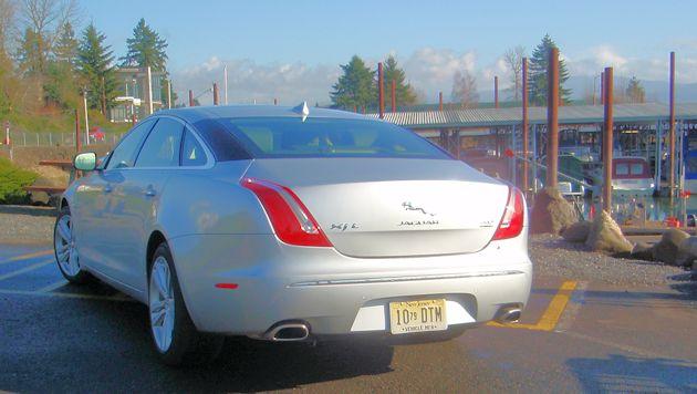 2015 Jaguar XJL rear