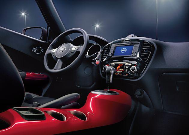 2015 Nissan Juke console