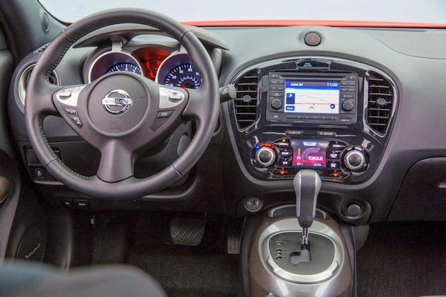 2015 Nissan Juke dash
