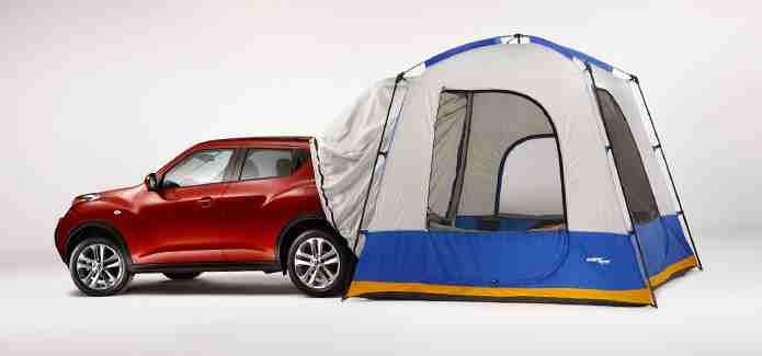 2015 Nissan Juke optional tent