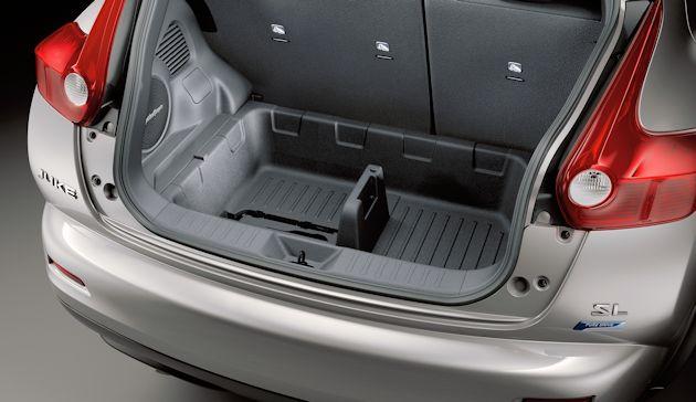 2015 Nissan Juke under floor cargo