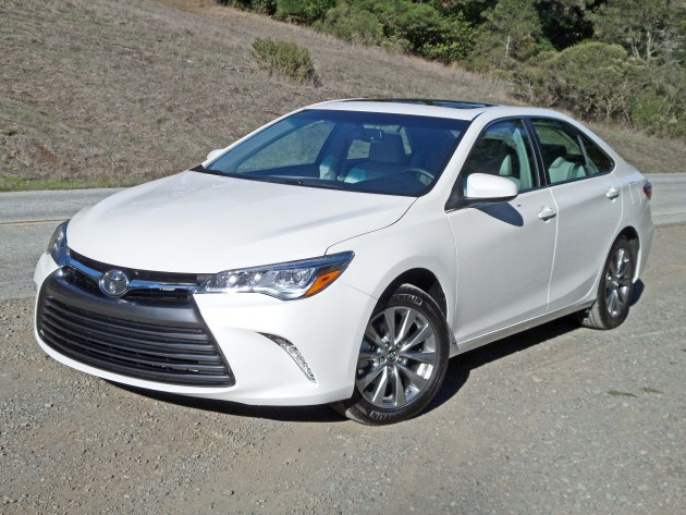 2015 Toyota Camry XLE V6 Test Drive