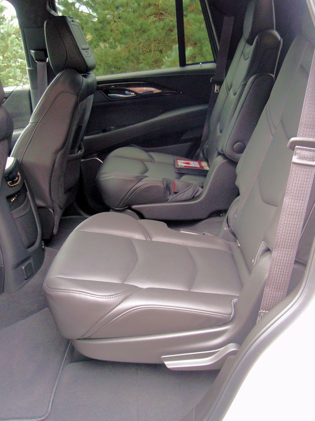 2015 Cadillac Escalade rear seats