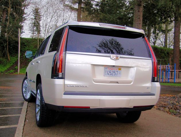 2015 Cadillac Escalade rear