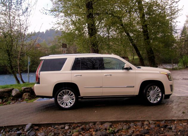 2015 Cadillac Escalade side