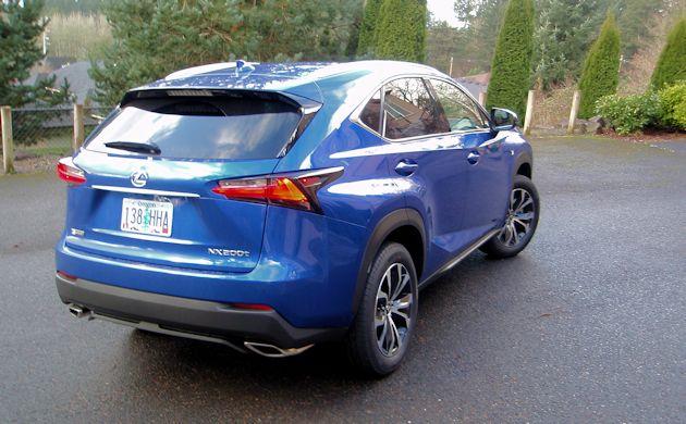 2015 Lexus NX 200T rear