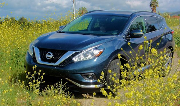 2015 Nissan Murano front q