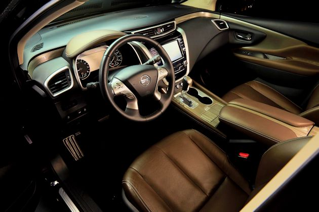 2015 Nissan Murano interior leather