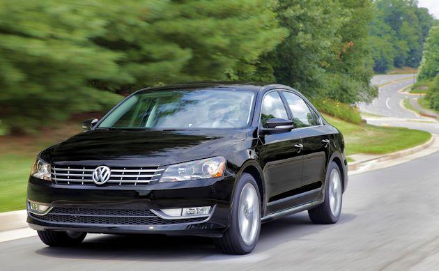 2015 Volkswagen Passat front