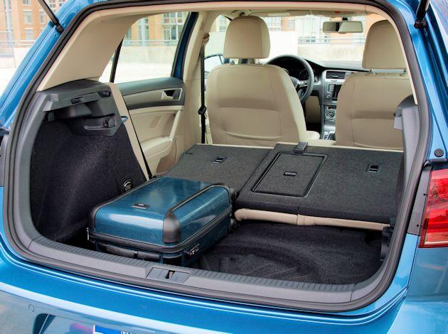 2015 Volkswagen eGolf cargo
