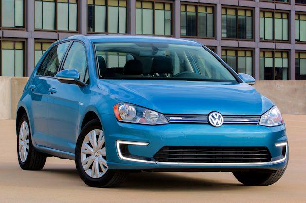 2015 Volkswagen eGolf front
