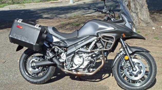 2015 Suzuki V-Strom 650XT ABS Test Ride