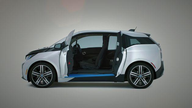 2015 BMW i3 doors