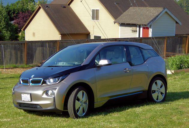 2015 BMW i3 front q