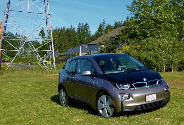 2015 BMW i3 front