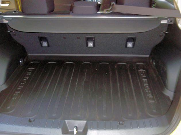 2015 Subaru XV CrossTrek cargo