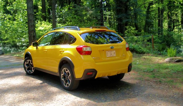 2015 Subaru XV CrossTrek rear