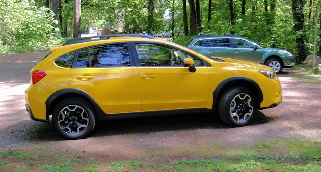 2015 Subaru XV CrossTrek side