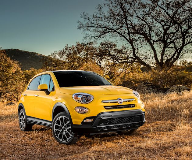 2016 Fiat 500X front