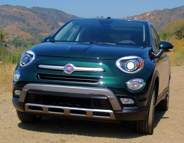 2016 Fiat 500X front2