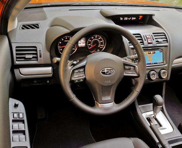 2773 Subaru XV CrossTrek dash