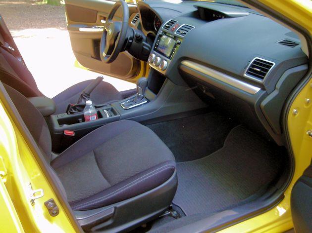 2773 Subaru XV CrossTrek interior