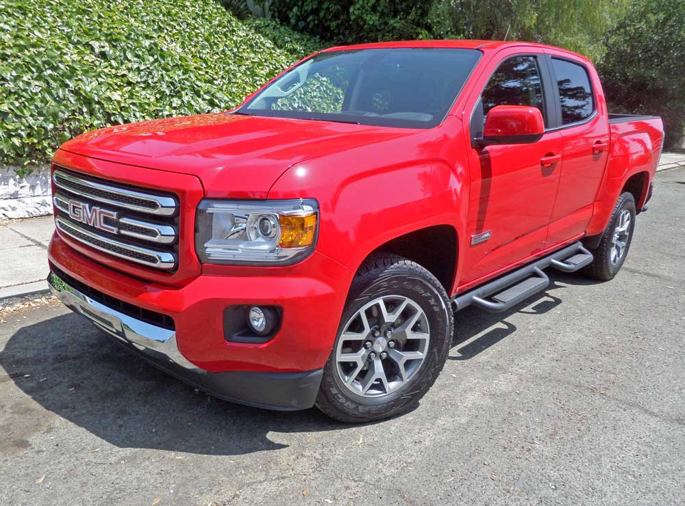 2015 Gmc Canyon 4wd Crew Cab Short Bed All Terrain Test Drive