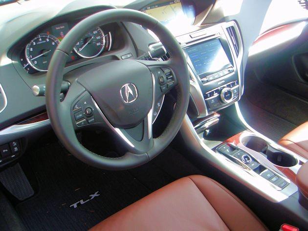 2015 Acura TLX interior 2