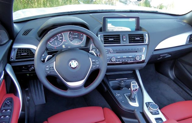 2015 BMW 228i convertible dash