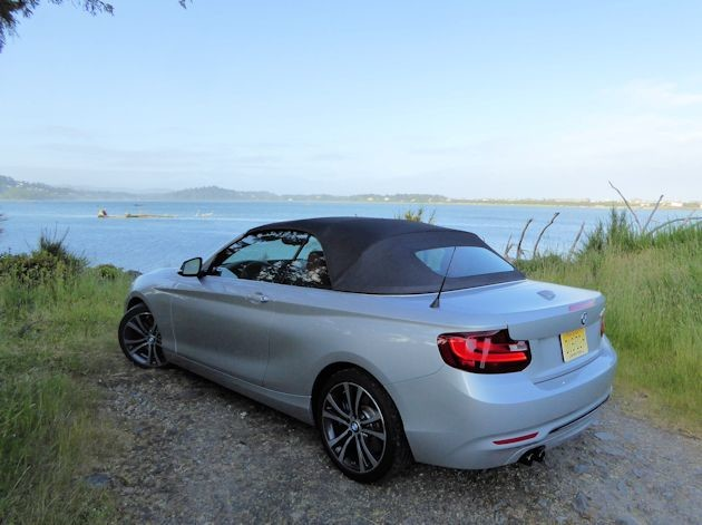 2015 BMW 228i convertible rear