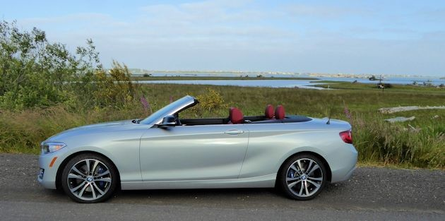 2015 BMW 228i convertible side 2