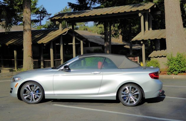 2015 BMW 228i convertible top up