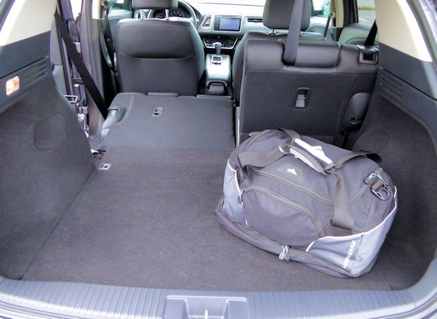 2016 Honda HR-V cargo