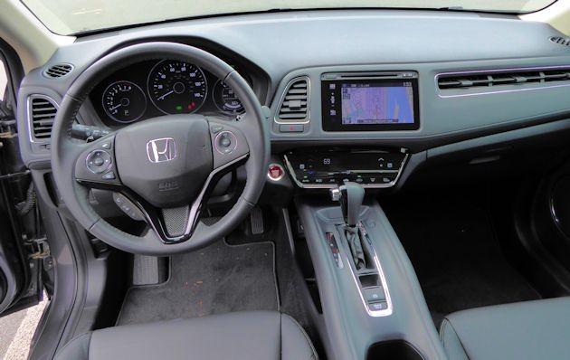 2016 Honda HR-V dash