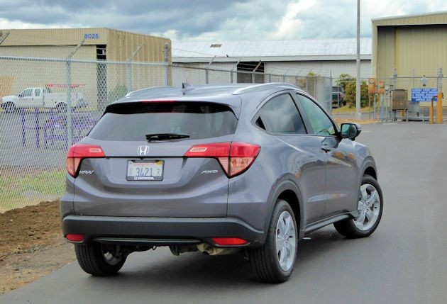 2016 Honda HR-V rear