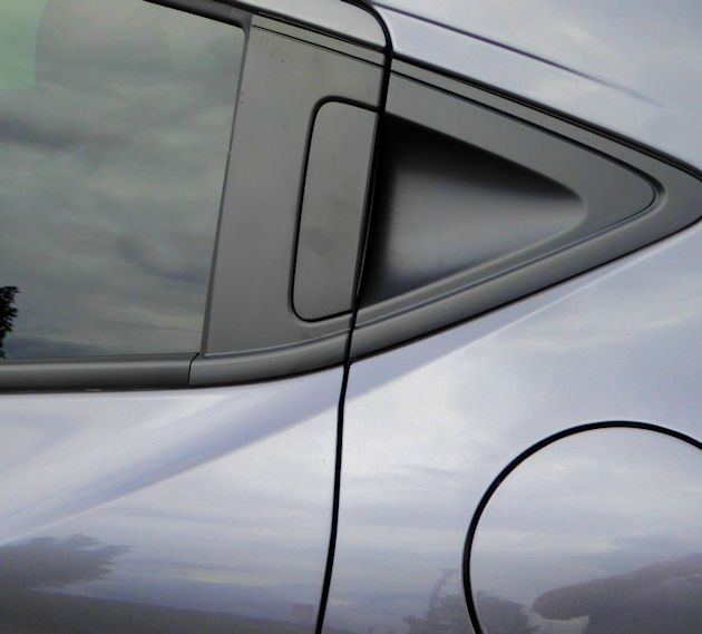 2016 Honda HR-V rear door handle