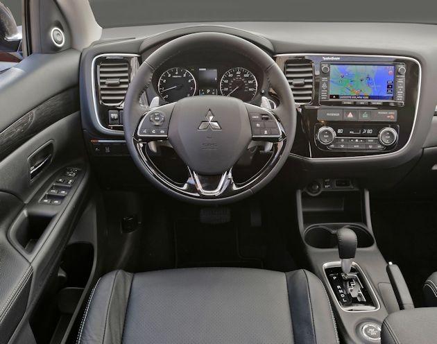 2016 Mitsubishi Outlander dash