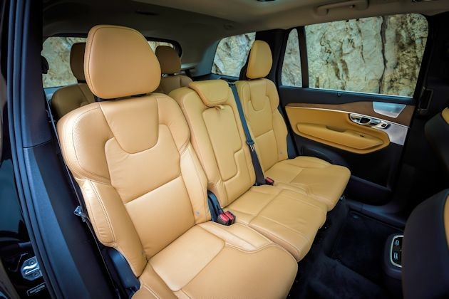2016 Volvo XC90 2nd row seats
