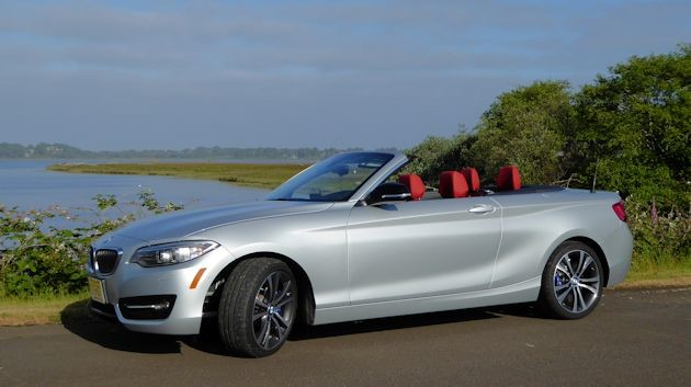 2780 BMW 228i convertible top up