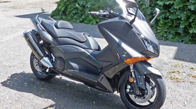 2015 Yamaha T-Max XP500F Test Ride