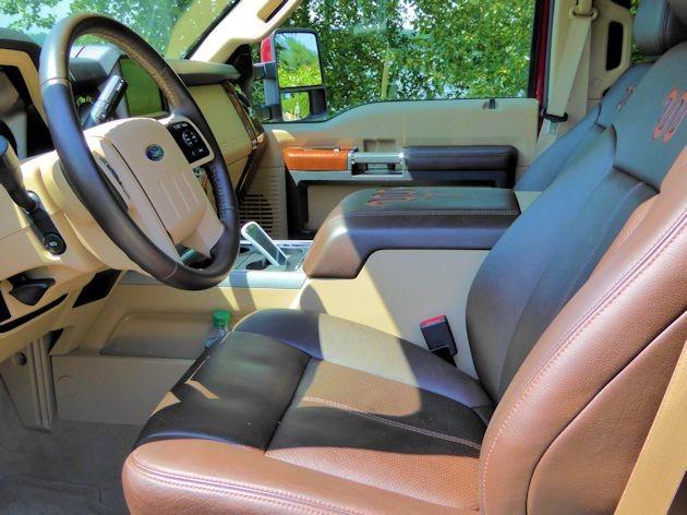 2015 Ford F-350 interior