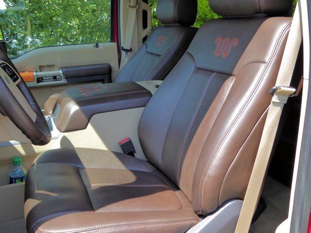 2015 Ford F-350 seats