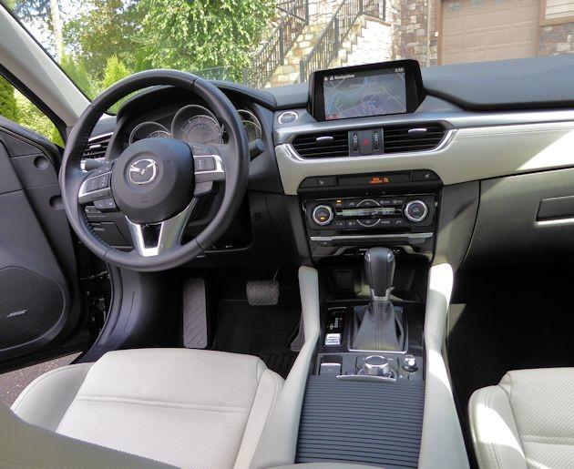 2015 Mazda6i dash