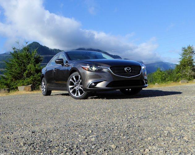 2015 Mazda6i front