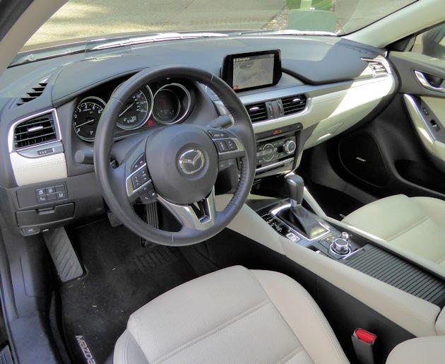 2015 Mazda6i interior