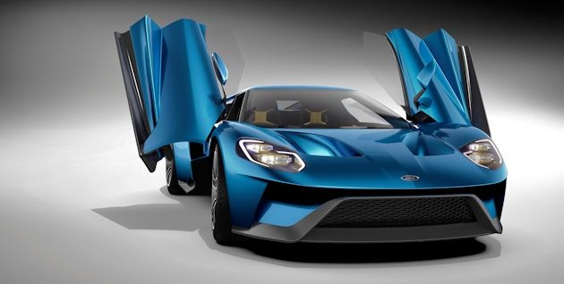 2015 NAC Awards Ford GT front