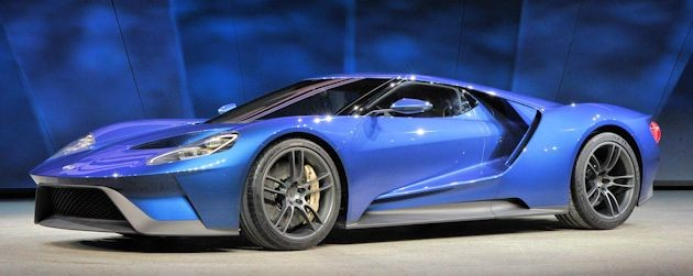 2015 NAC Awards Ford GT front q